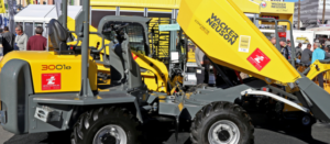We helped a client in Devon fund two Neuson dumpers...